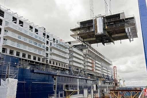 Pressemeldung: Mehr als 50 Prozent der Mein Schiff 3 fertig - Neubau von TUI Cruises setzt Standards in Sachen Umweltschutz