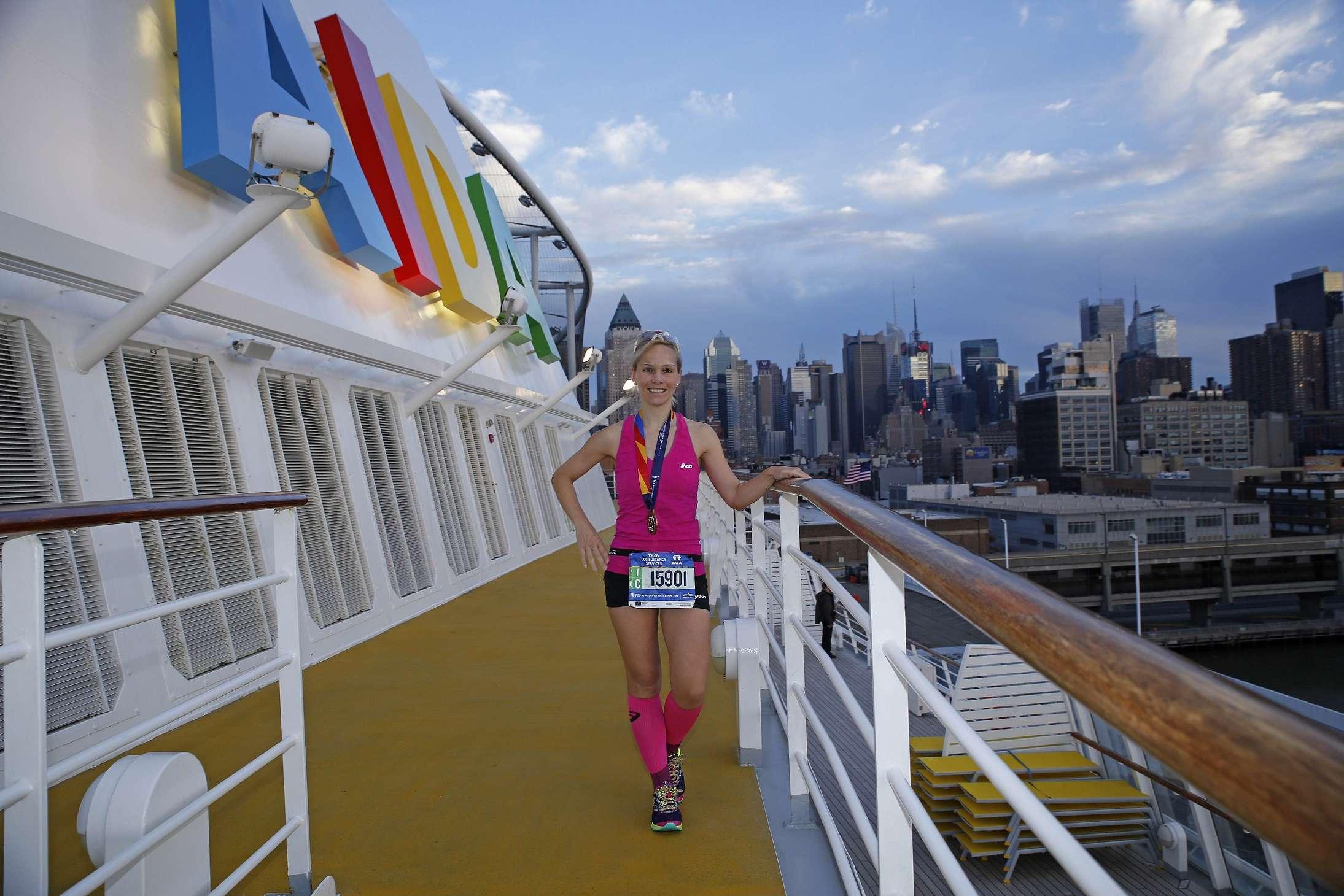 Mit AIDA und Ilka Groenewold zum NYC Marathon