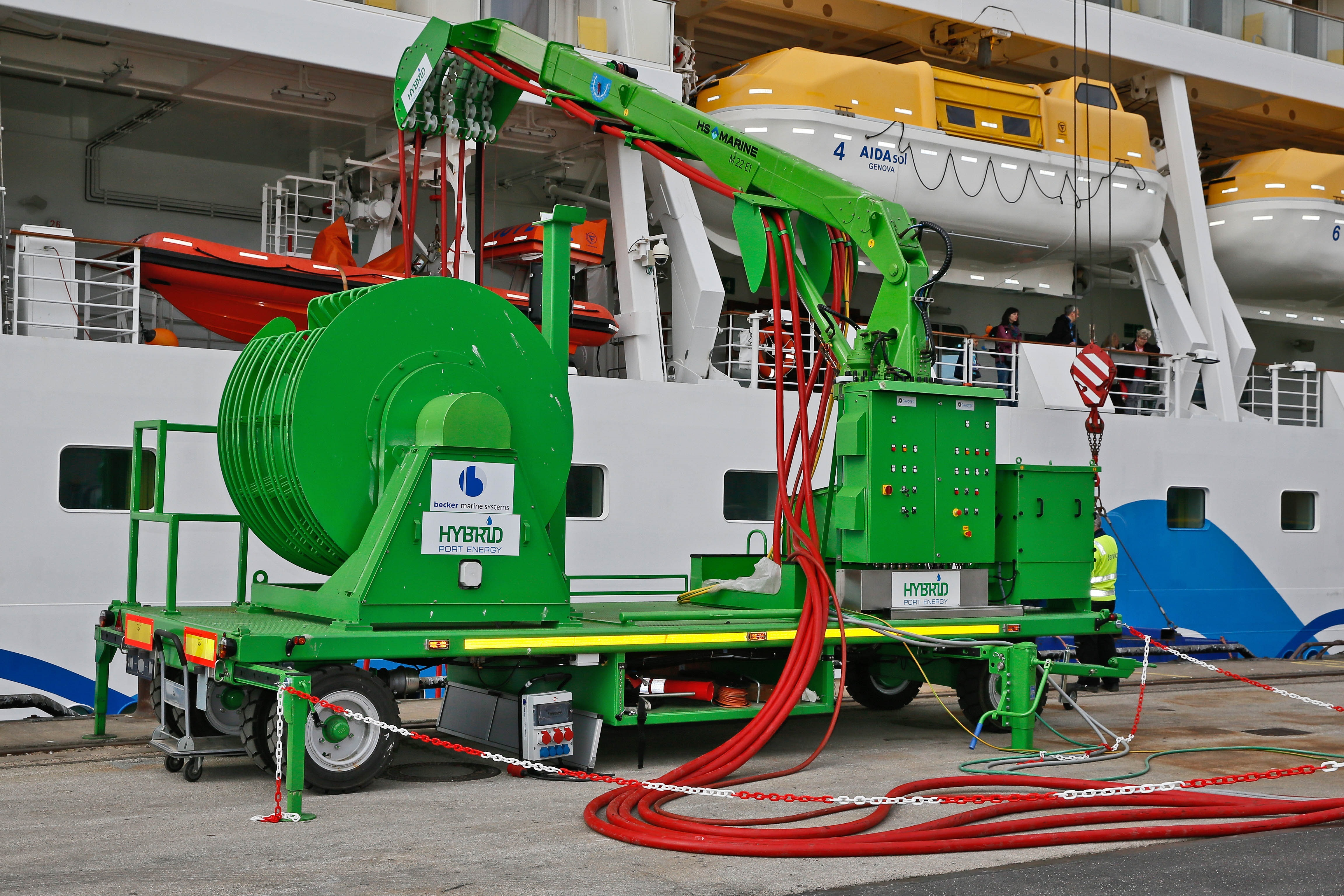 AIDAsol_Versorgung LNG Hybrid Barge 3