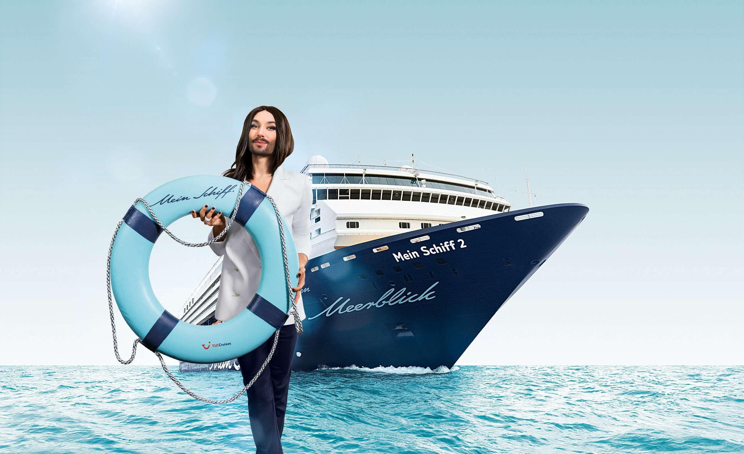 conchita_entert_mein_schiff_2_ctui_cruises